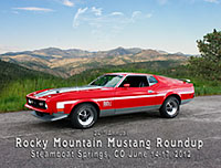 Rocky Mountain Mustang Roundup location photography