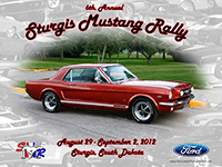 Sturgis Mustang Rally Auto show photo