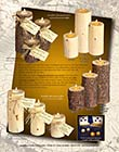 Digital layout and design - Candles